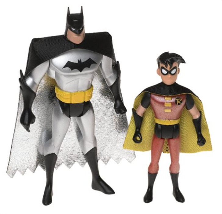 Mattel Batman and Robin Animated series Action Figure 2 pack