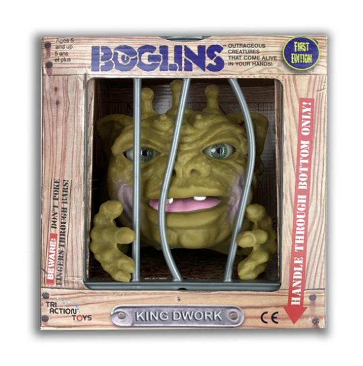 "Boglins ""King Dwork""  First Edition"