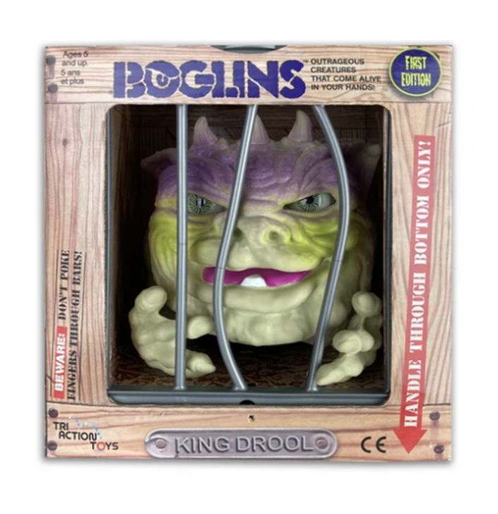 "Boglins ""King  Drool""  First Edition"