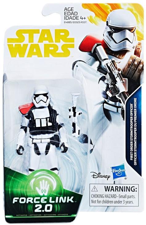 Hasbro Star Wars First Order Stormtrooper Officer Force Link 2.0 Action Figure