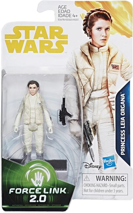 Hasbro Star Wars Princess Leia Hoth  Force Link 2.0 Action Figure