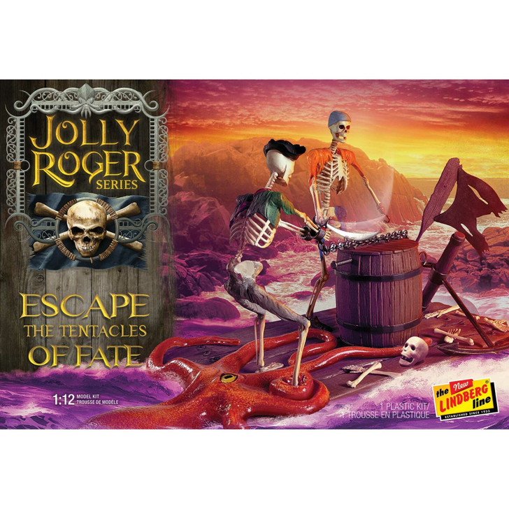 The Jolly Roger Series Escape the Tentacles of Fate Model Kit