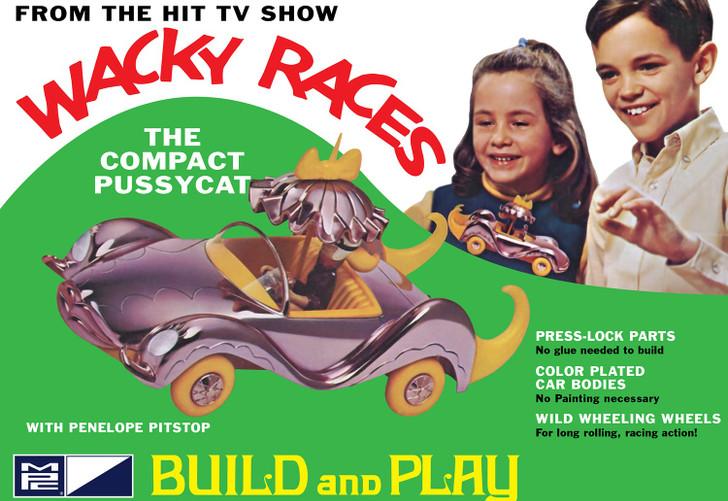 Wacky Races The Compact Pussycat Model Kit