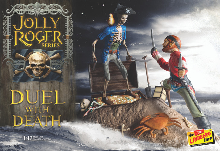 The Jolly Roger Series Duel with Death Model Kit