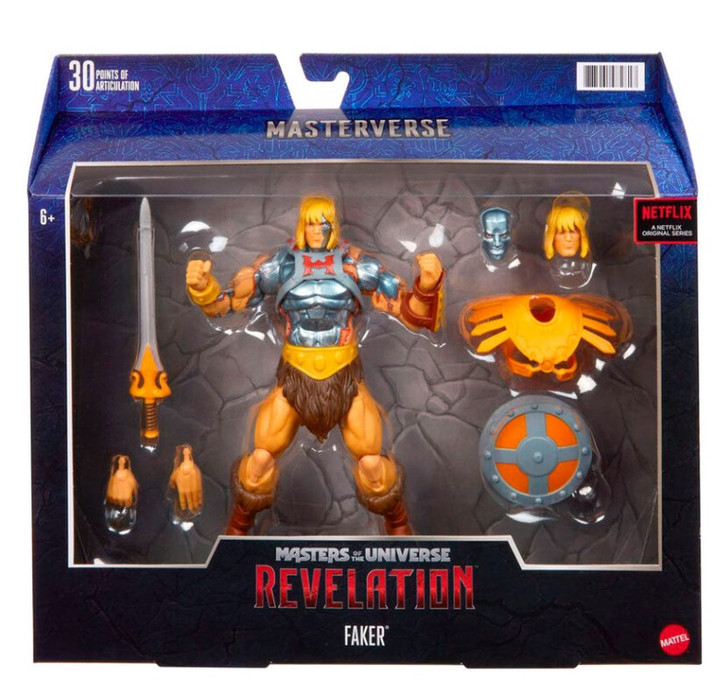 Masters of the Universe Masterverse Faker Action Figure
