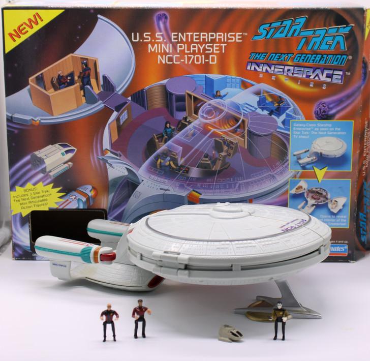Playmates Star Trek TNG Innerspace U.S.S. Enterprise NCC-1701-D Mini Playset (Open package)