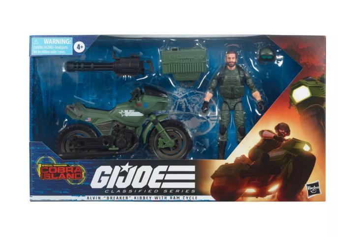 Hasbro GI Joe Classified Series Breaker with RAM Cycle 6in Action Figure