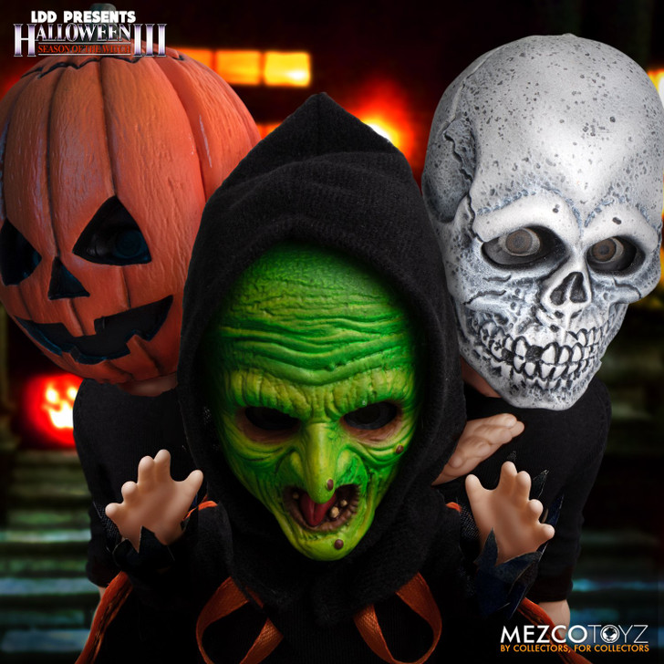 Mezco LDD Halloween III: Season of the Witch Trick-or-Treaters Boxed Set