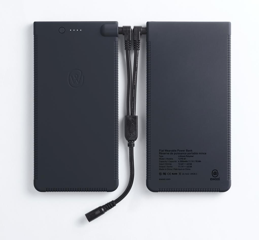 ewool® dual battery kit