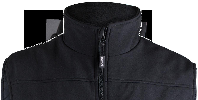 top part of ewool PRO heated vest