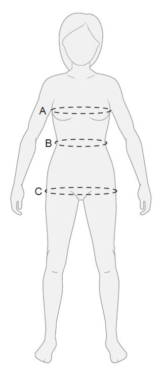 Image of ewool heated vest mesurements