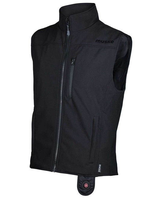 image ewool® Heated Vest for Airport Ground Services Professionals—Side view