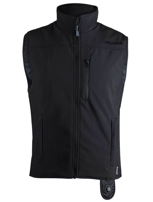image ewool® Heated Vest for Airport Ground Services Professionals—Front view