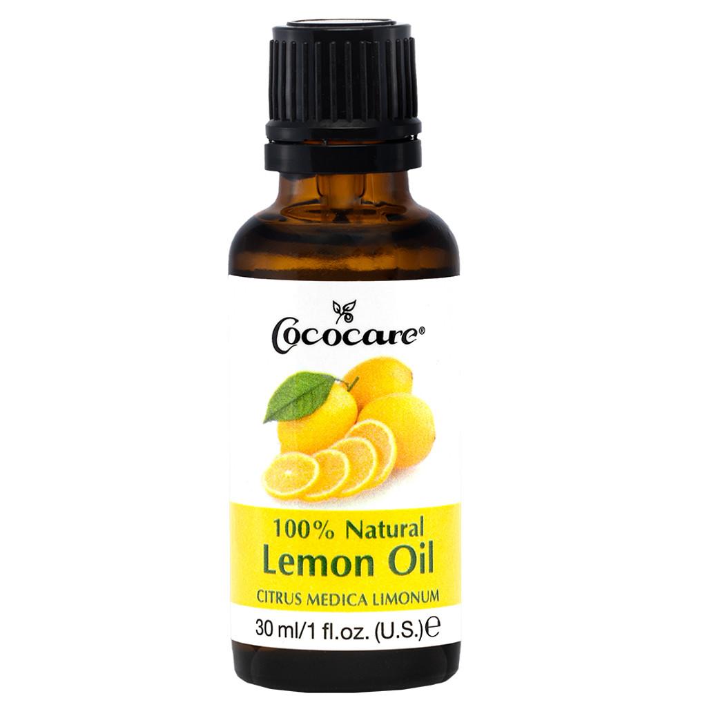 Cococare 100% Natural Lemon Oil 1 fl oz