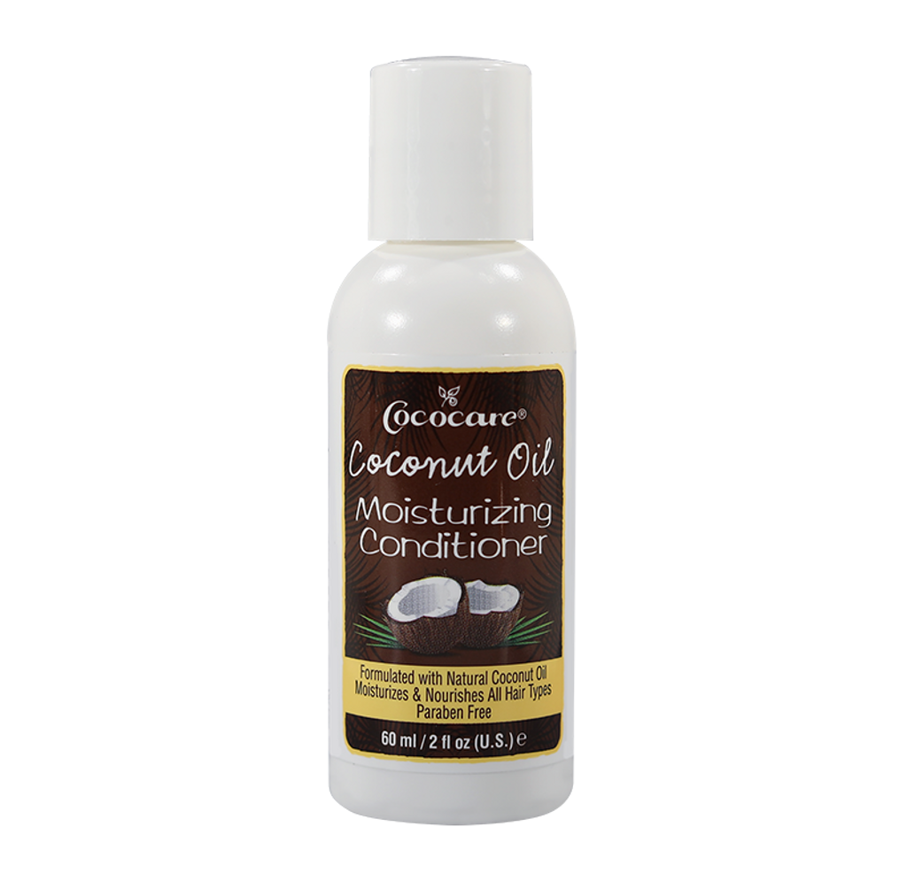 Coconut Oil Moisturizing Hair Conditioner Travel Size 2 oz.