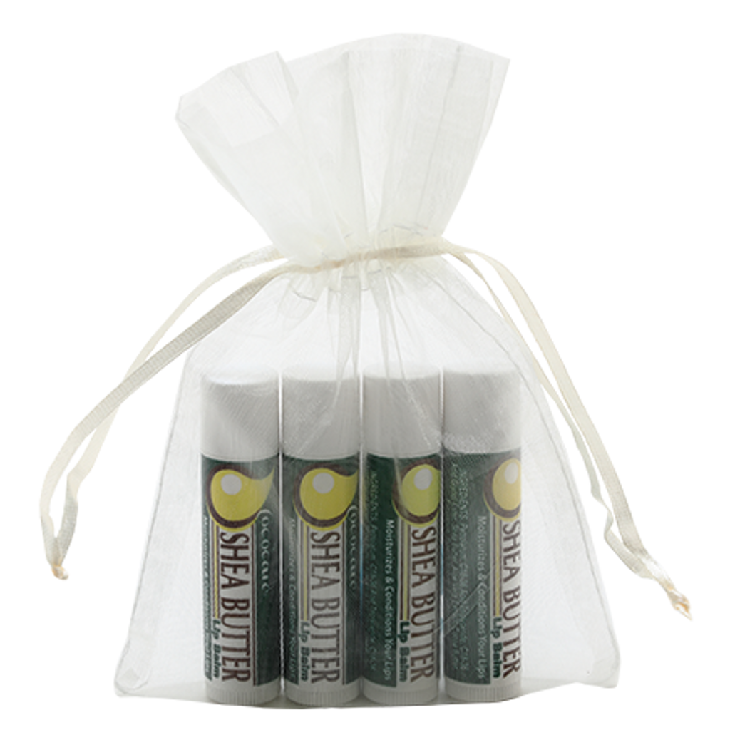 Shea Butter Lip Balm Gift Bag