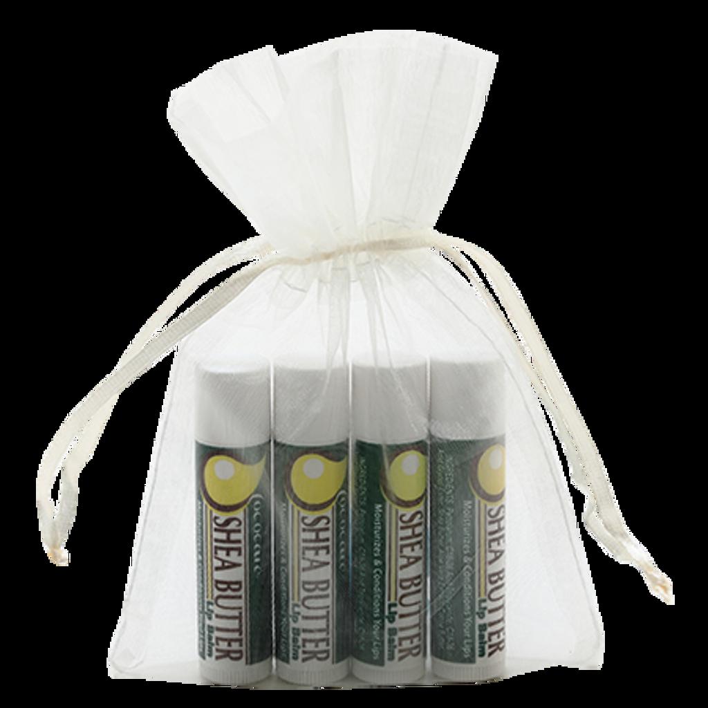 Shea Butter Lip Balm Gift Bag