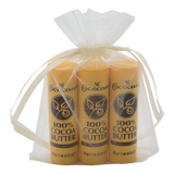 100% Cocoa Butter Stick 4 Piece Gift Bag