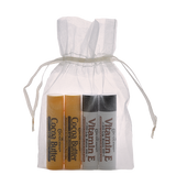 Cocoa Butter and Vitamin E  4 Piece Lip Balm Gift Bag