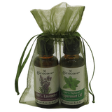 Relaxing and Uplifting Aromatherapy Stocking Stuffer with 100% Lavender and 100% Peppermint Oil.
