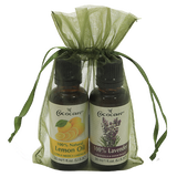 Refreshing and Relaxing Aromatherapy Gift Bag with Lemon Oil and Lavender