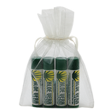 Aloe Vera 4 Piece Lip Balm Gift Bag
