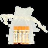 All Natural Beeswax 4 Piece Lip Balm Gift Bag