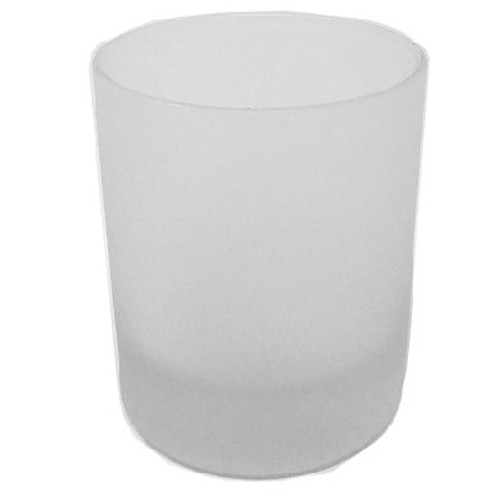 30cl Lucy Frosted Candle Glass
