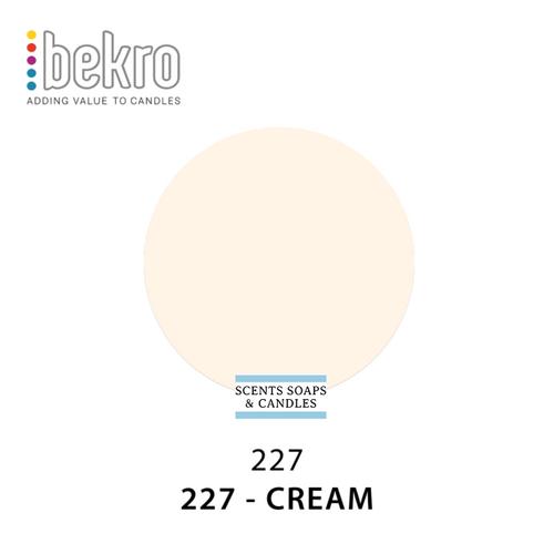 Bekro Cream Candle Dye - 227