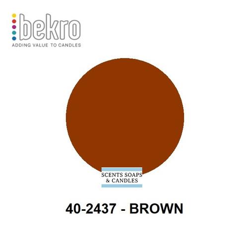Bekro Brown Candle Dye - 40-2437