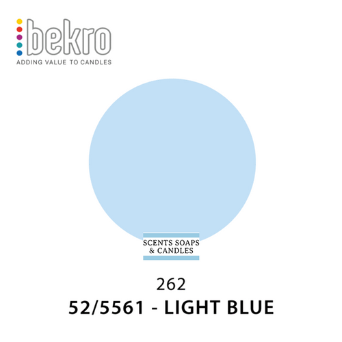 Bekro Light Blue Candle Dye - 52-5561