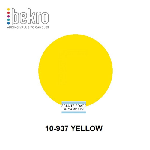 Bekro Yellow Candle Dye - 10-937