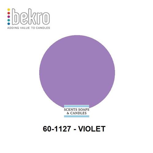 Bekro Violet Candle Dye - 60-1127