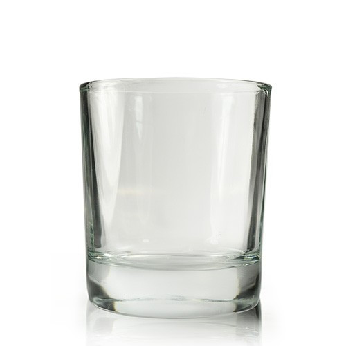 20cl Karen Clear Candle Glass
