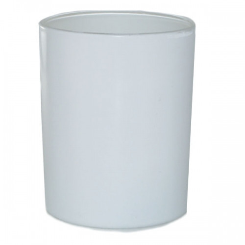 30cl Lucy Gloss White Candle Glass