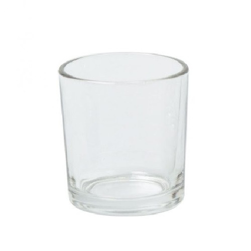 9cl Meredith Clear Candle Glass