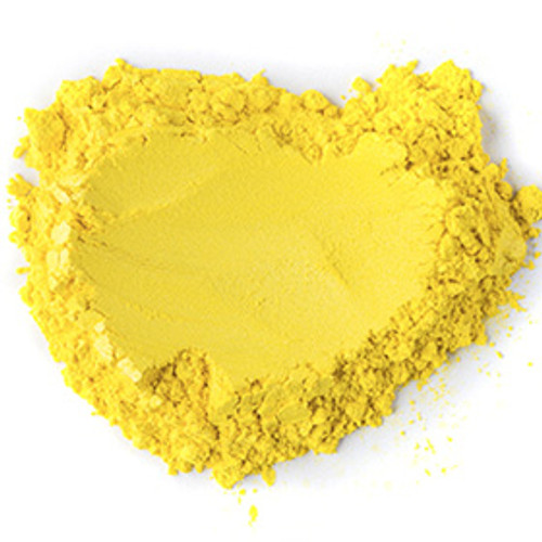 Yellow Buttercup Sparkle Mica Powder