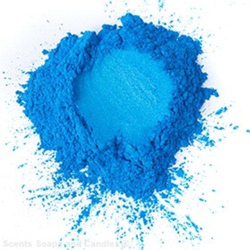 Electric Blue Mica Powder
