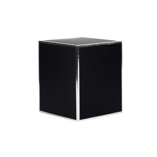 Black Candle Box Silver Edge Medium