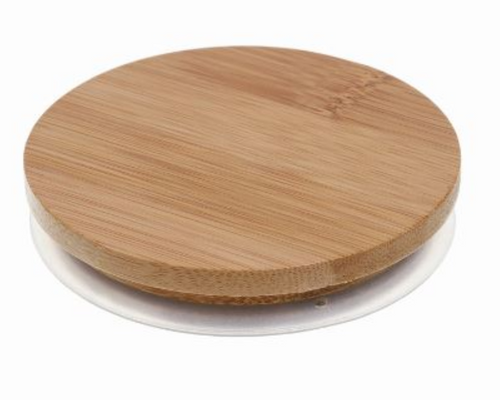 Bamboo Lid For 30cl Lucy Candle Glass