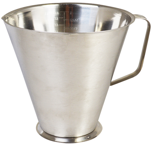 One Litre Stainless Steel Measuring Jug