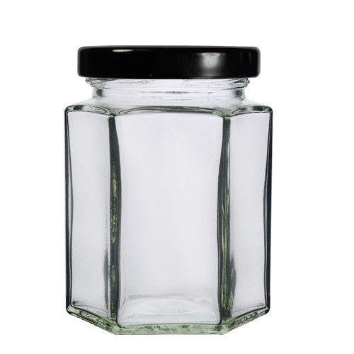 190ml Hexagonal Candle Jar