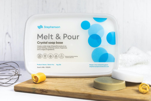 Goats Milk - Stephenson Crystal Melt & Pour