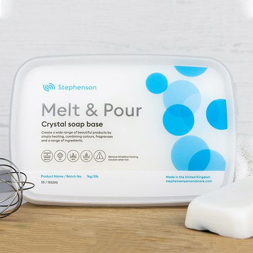 solid shampoo melt and pour