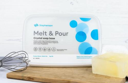 Clear ST - Stephenson Crystal Melt & Pour Soap