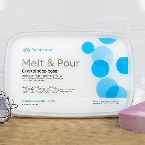 White SLS Free melt and pour