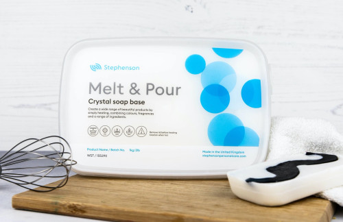 White Standard melt and pour base