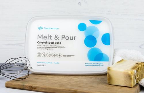 Shea - Stephenson Crystal Melt & Pour Soap