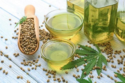 Hemp Seed Oil - Cold Pressed