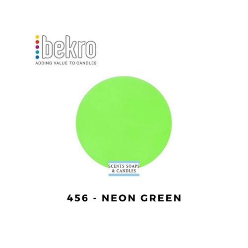 Bekro Neon Green Candle Dye - 456